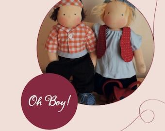 Oh Boy! E-Book für Puppenkleidung