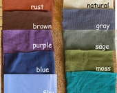 Hand Dyed Organic Cotton Jersey Knit with spandex Fabric by the Yard
