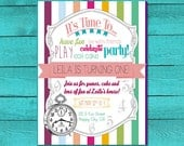 Time to Party Printable Invitation
