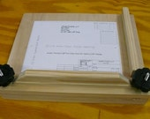 "12.5 x 13"" Book Press, Item 209, Mapletop Plywood, Pine"