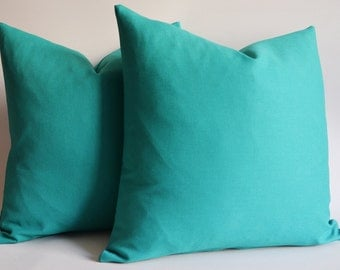Popular items for green throw pillow on Etsy