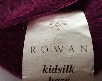 ROWAN Kidsilk Haze Mohair and SIlk Laceweight Yarn 225 yards