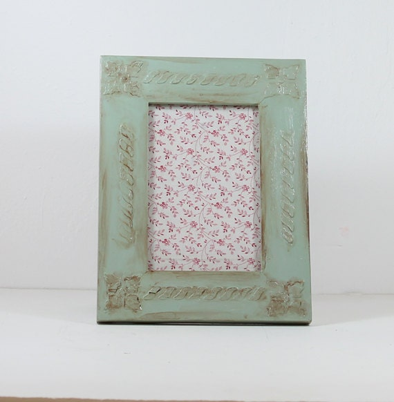 """Rustic, """"Old Gray"""" Distressed picture frame"""