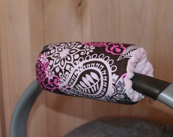 Car seat handle cover, padded Handle Cover freida frill padded handle- Ships Today