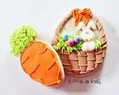 Easter Cookies, Spring  Cookies,  Bunny Cookies, Easter, Spring