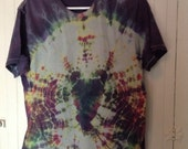 Tie dye Organic Cotton Tee in Large