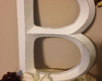 Wall Decor, Large Letter, Shabby Chic Wall Decor - Pick your CoLOr and PIcK YOuR LeTTeR - A-Z