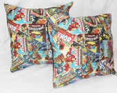 Marvel Comic Book Covers pillow covers