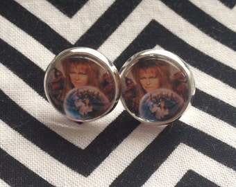 Labyrinth inspired earrings