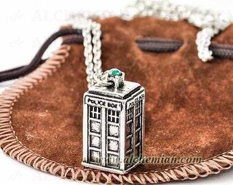 T.A.R.D.I.S. necklace