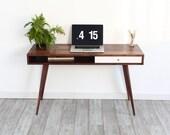 Jeremiah Collection Mid Century Modern Laptop Desk