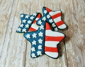 Star Flag sugar cookies