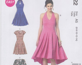 McCall's Sewing Pattern M6922 Misses' Dresses New UNCUT