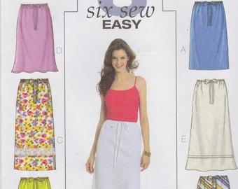 Butterick Sewing Pattern B4522 BB Misses' Skirt New Uncut OOP