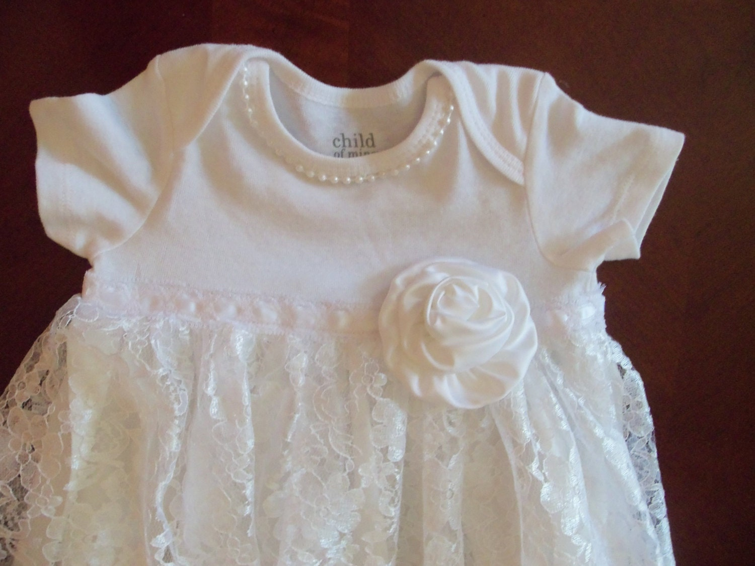 Baby Gown Lace Dress Baby Dress Fancy Christening Gown
