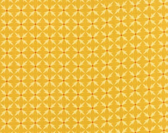 Fancy - Criss Cross in Golden by Lily Ashbury for Moda Fabrics