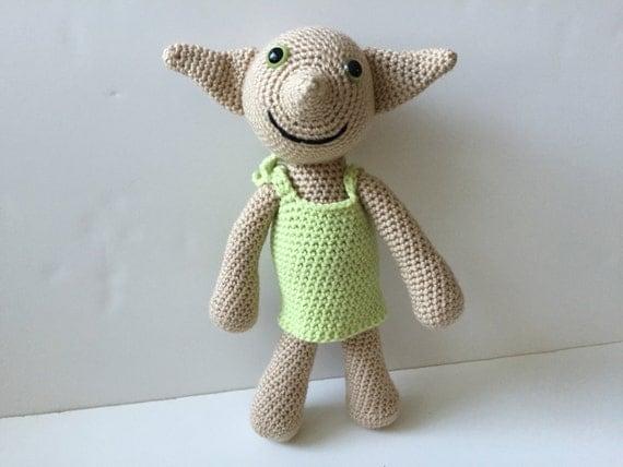 Dobby Doll From Harry Potter Crochet Amigurumi