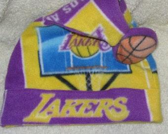 Lakers Santa Hat