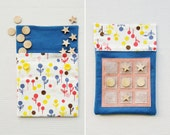 Noughts & Crosses - Tic Tac Toe - Travel Game - Lollipop Flowers