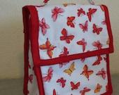 Insulated Lunch Bag - Butterflies