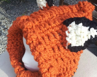 Hooded Fox Cowl- made to order