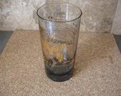 Fantastic Vintage Aquarius Zodiac Glass