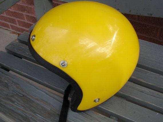 Wow- Awesome Vintage Old School Motorcycle Helmet
