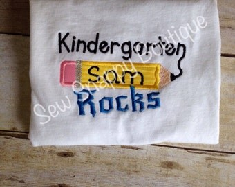Preschool Rocks Shirt