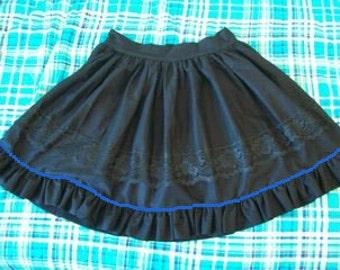 Ribbon Edged Skirt