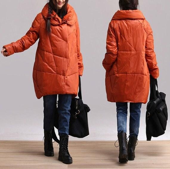 asymmetrical down jacket coat women coat women by deboy2000