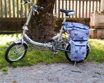 Adventures Bike Saddle Bag Pattern for Folded Bike