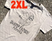 2XL gator TEA COLORED t-shirt
