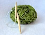 Circular knitting needle,  Size US 13 9mm Bamboo knitting needles, 16 inch circular knitting needles, 40 cm circular knitting needles