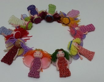 10 Fairy Finger Puppets, Fairy Dolls, Party Favors