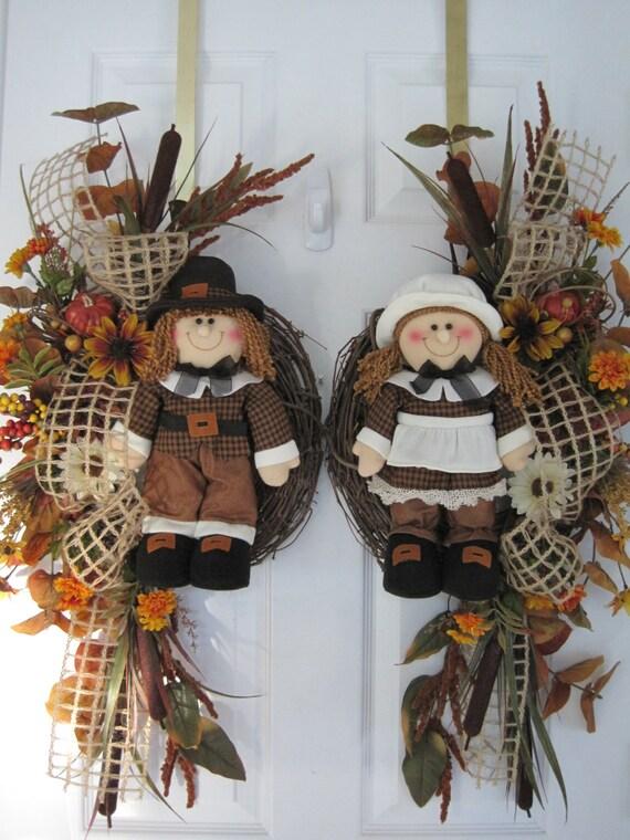 Fall Sale Ending Soon Double Door Swags Pilgrim Boy Amp Girl