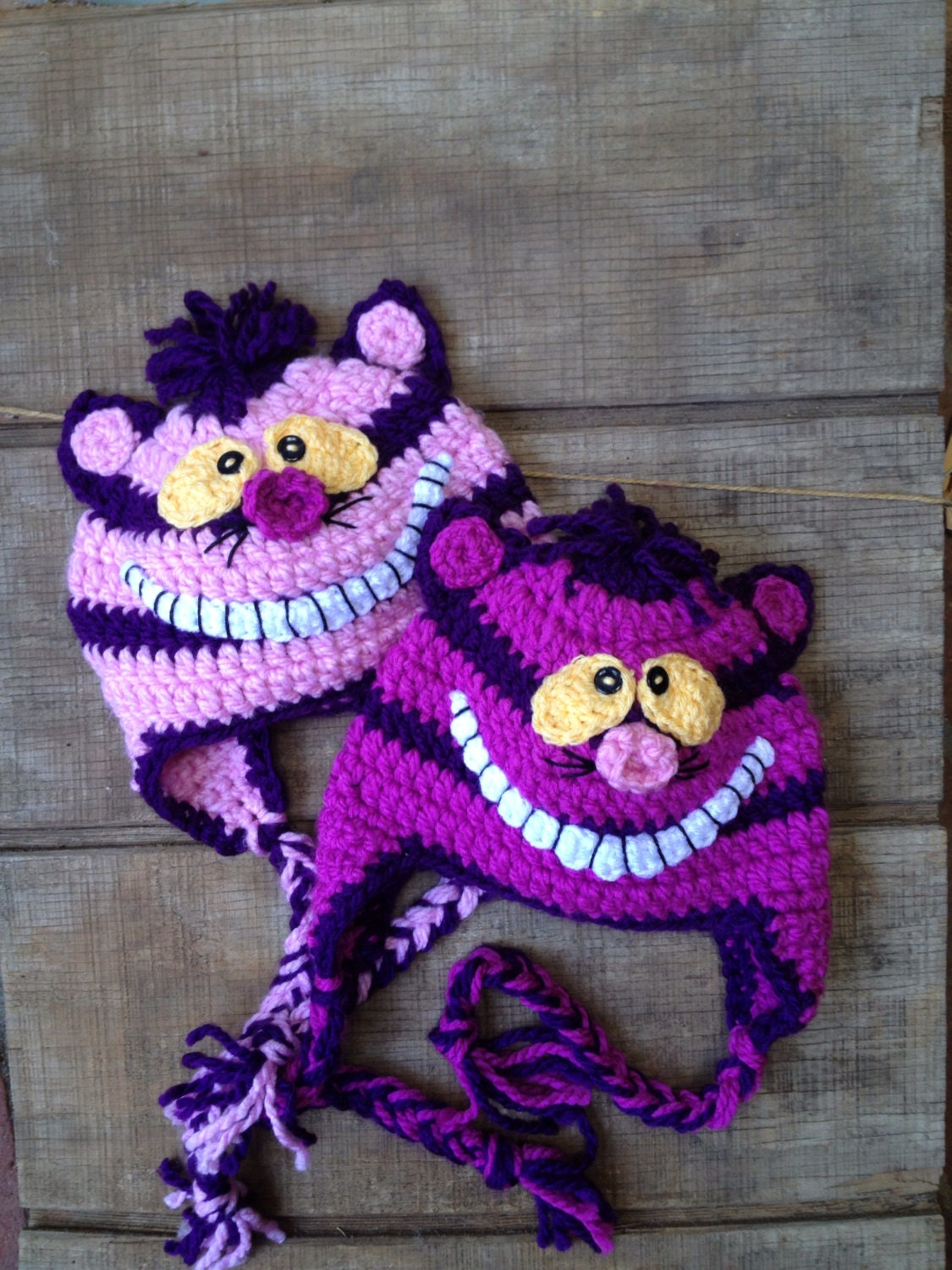 Cheshire Cat Crochet Cat Hat Crochet Cheshire by ...