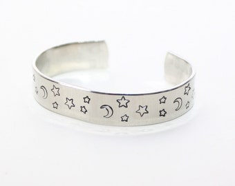Moon and Stars Cuff