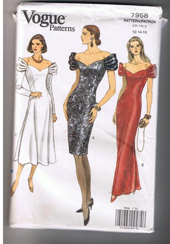 Homecoming Dress Patterns Vogue 76