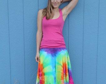 Asymmetrical dress/skirt combo