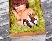 Newborn Cowboy Hat and Boots