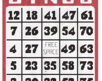 Bingo Card or Bingo Balls Cross Stitch Pattern