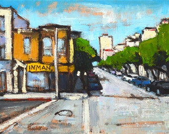 San Francisco Painting - Nob Hill
