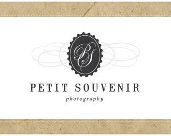 PreDesigned Logo - PreMade Logo - Vector Logo - Monogram Logo - PETIT SOUVENIR Logo Design