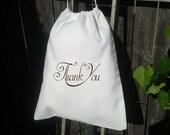 25 -10x12 Drawstring Bags- Wedding Favor-Party Favor - Premium -Muslin Bag -Thank you favor