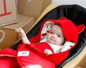 Organic Baby Sleeping Bag / Organic sleep sack for Infants / Sleeping bag for Babies by Mezoome Designs