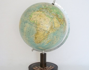 SALE -Terrestrial Globe - One Of A Kind by Räth's -  c 1950