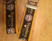 Steeler Girl key chain, carry your keys in style