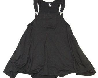 ROJAS overall dress overalls sweat dress over all jumper dresses