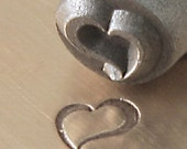 ImpressArt Metal Stamps Swirly Heart 6MM