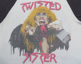 TWISTED SISTER 1984 tour T SHIRT